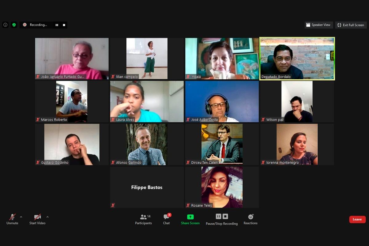 Reunião audiovisual