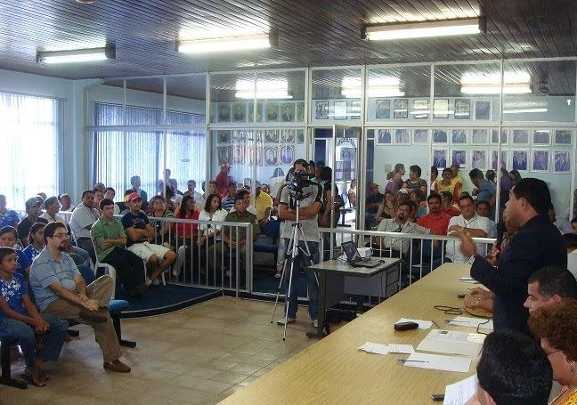 Audiência realizada em 2010 em Capanema